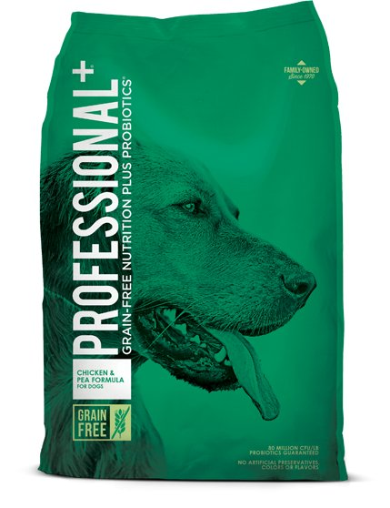 Diamond Diamond Professional+ Grain Free Chicken & Pea Dry Dog Food 28#