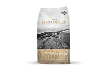 Diamond Diamond Naturals Light Lamb & Rice Dry Dog Food 30#