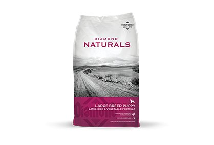 Diamond Diamond Naturals Large Breed Puppy Lamb & Rice Dry Dog Food 20#
