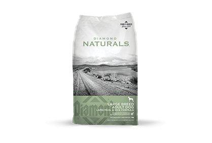 Diamond Diamond Naturals Large Breed Lamb & Rice Dry Dog Food 40#