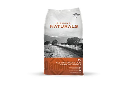 Diamond Diamond Naturals Chicken & Rice Dry Dog Food 40#
