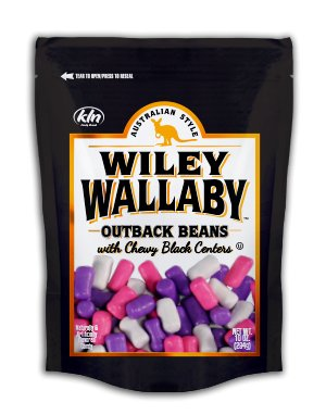 Wiley Wallaby Wiley Wallaby Outback Beans with Black Centers 10oz