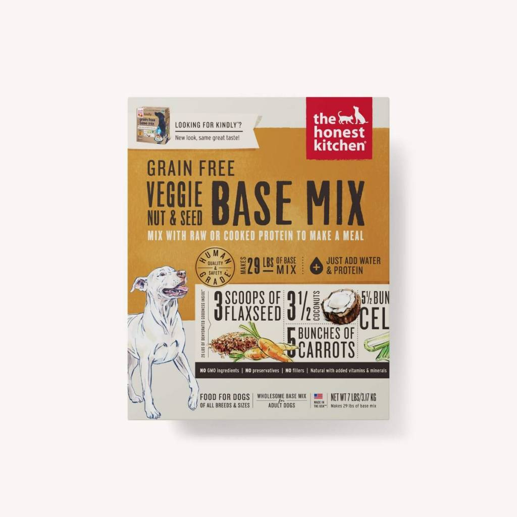 The Honest Kitchen The Honest Kitchen Grain Free Veggie, Nut & Seed Base Mix Dehydrated Dog Food