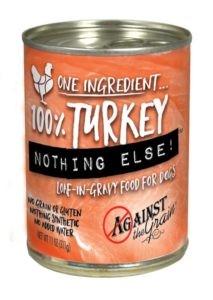 Against the Grain Against The Grain Nothing Else Turkey Wet Dog Food 11oz