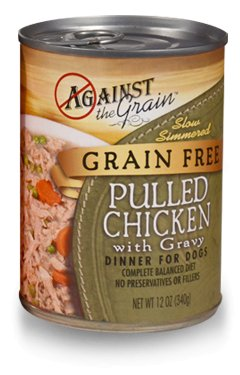 Against the Grain Against The Grain Pulled Chicken Wet Dog Food 12oz