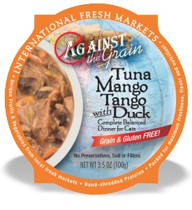 Against the Grain Against The Grain Tuna Mango Tango with Duck Wet Cat Food 2.8oz