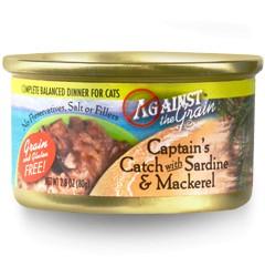 Against the Grain Against The Grain Captain's Catch with Sardine & Mackerel Wet Cat Food 2.8oz