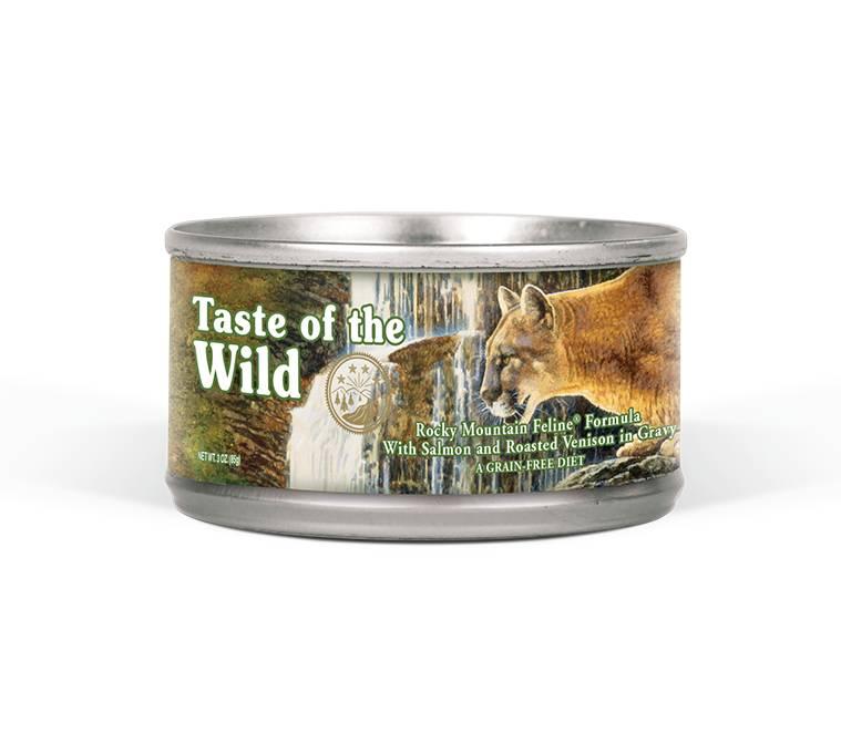 Taste of the Wild Taste of the Wild Rocky Mountain Wet Cat Food