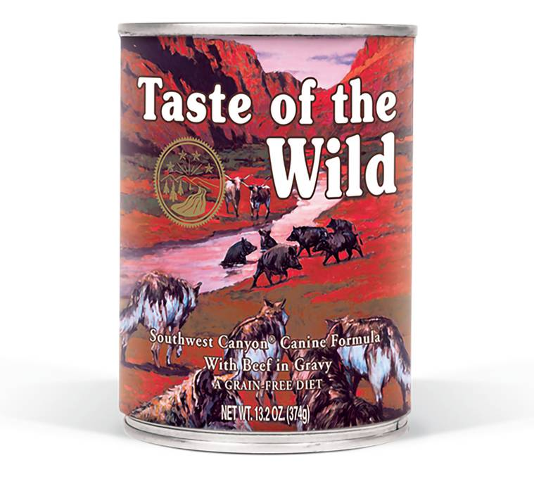 Taste of the Wild Taste of the Wild Southwest Canyon Wet Dog Food 13oz