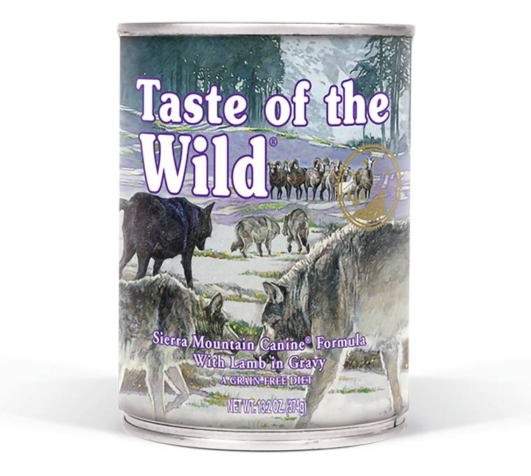 Taste of the Wild Taste of the Wild Sierra Mountain Wet Dog Food 13oz