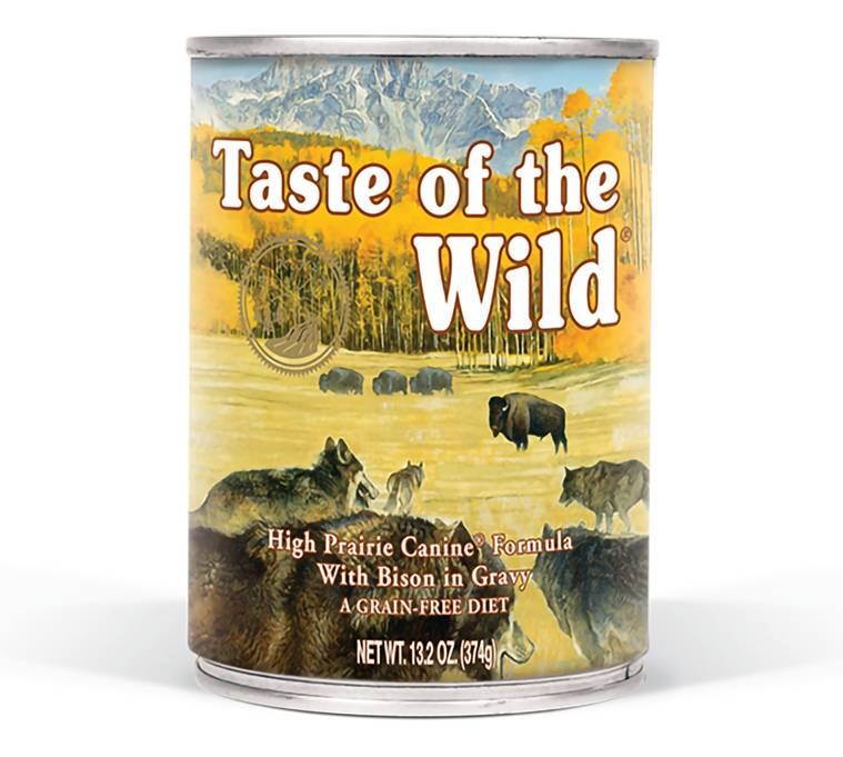 Taste of the Wild Taste of the Wild High Prairie Wet Dog Food 13oz