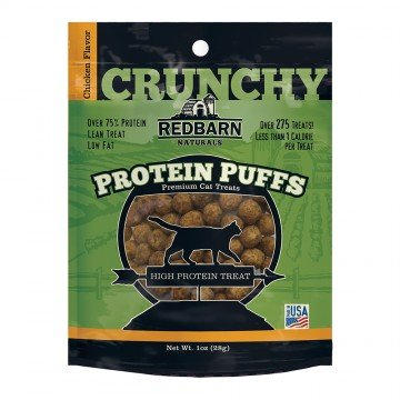 Red Barn Red Barn Protein Puffs Chicken Cat Treats 1oz