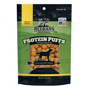 Red Barn Red Barn Protein Puffs Cheese Dog Treats 1.8oz