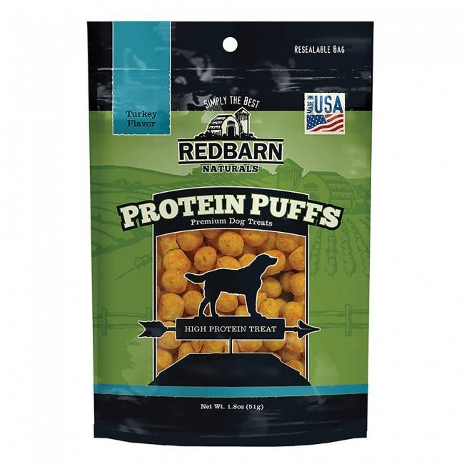 Red Barn Red Barn Protein Puffs Turkey Dog Treats 1.8oz