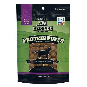 Red Barn Red Barn Protein Puffs Peanut Butter Dog Treats 1.8oz
