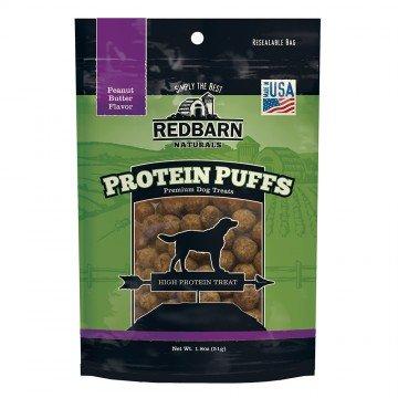 Red Barn RedBarn Protein Puffs Peanut Butter Dog Treat 1.8oz