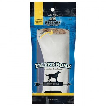 Red Barn Red Barn Filled Bone Cheese n' Bacon Large Dog Treat