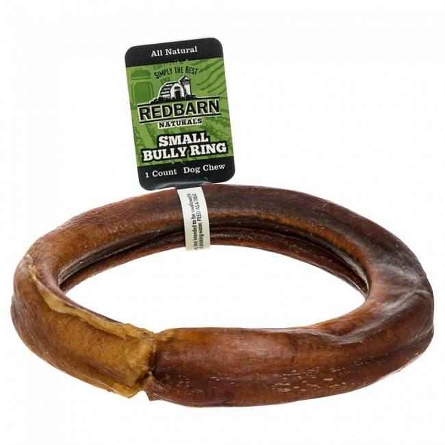 Red Barn RedBarn Bully Ring Small Dog Treat