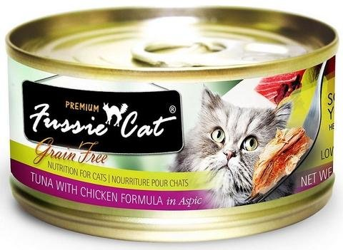 Zignature Fussie Cat Tuna with Chicken Wet Cat Food 2.8oz