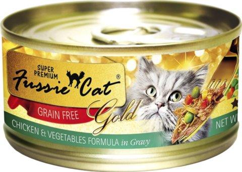 Zignature Fussie Cat Chicken & Vegetables Wet Cat Food 2.8oz