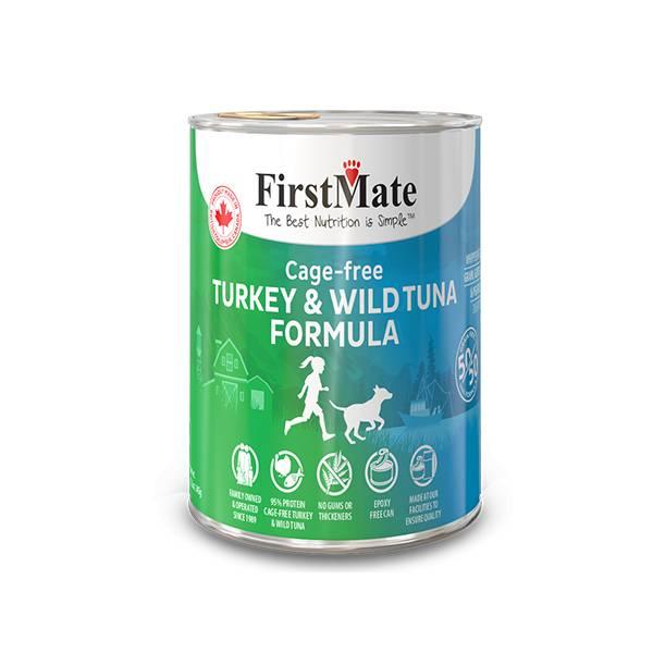 FirstMate FirstMate Limited Ingredient Diet 50/50 Turkey & Tuna Wet Dog Food 12.2oz