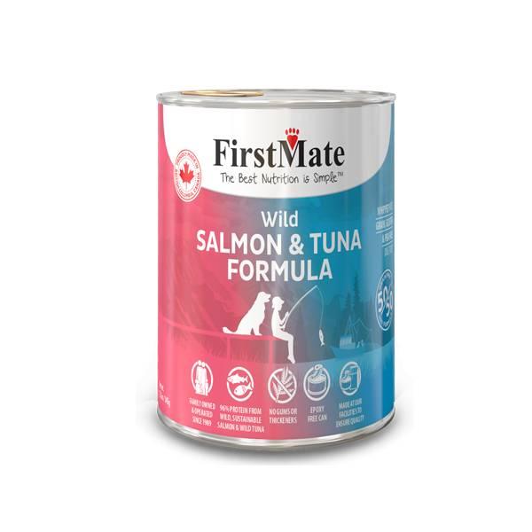 FirstMate FirstMate Limited Ingredient Diet 50/50 Salmon & Tuna Wet Dog Food 12.2oz