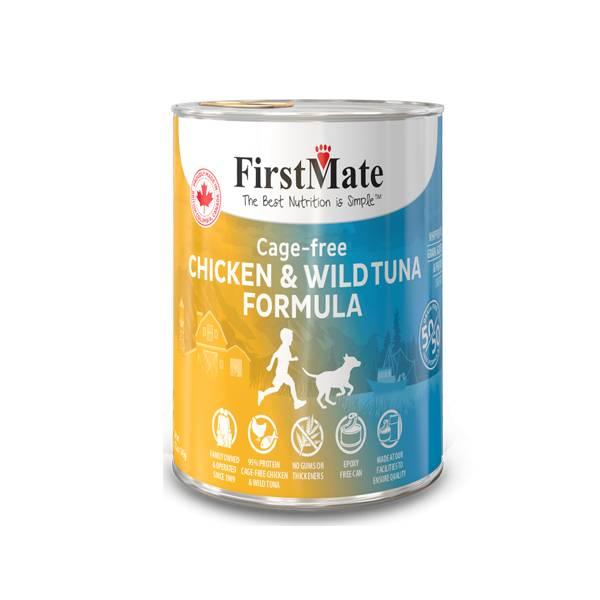FirstMate FirstMate Limited Ingredient Diet 50/50 Chicken & Tuna Wet Dog Food 12.2oz