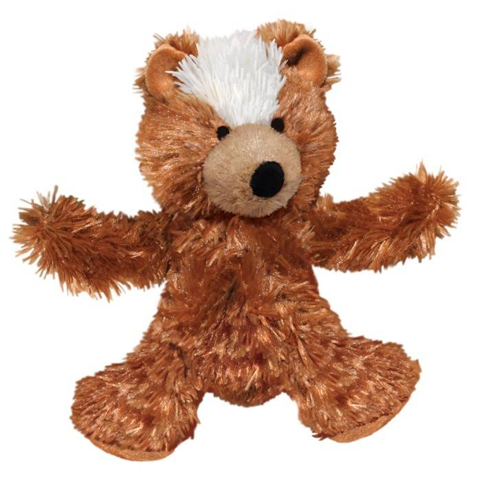 Kong Kong Plush Teddy Bear Dog Toy Extra Small