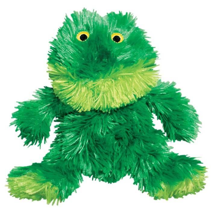 Kong Kong Plush Frog Dog Toy Extra Small