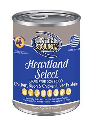NutriSource NutriSource Grain Free Heartland Select Wet Dog Food 13oz