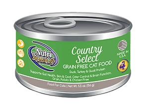 NutriSource NutriSource Grain Free Country Select Wet Cat Food 5.5oz