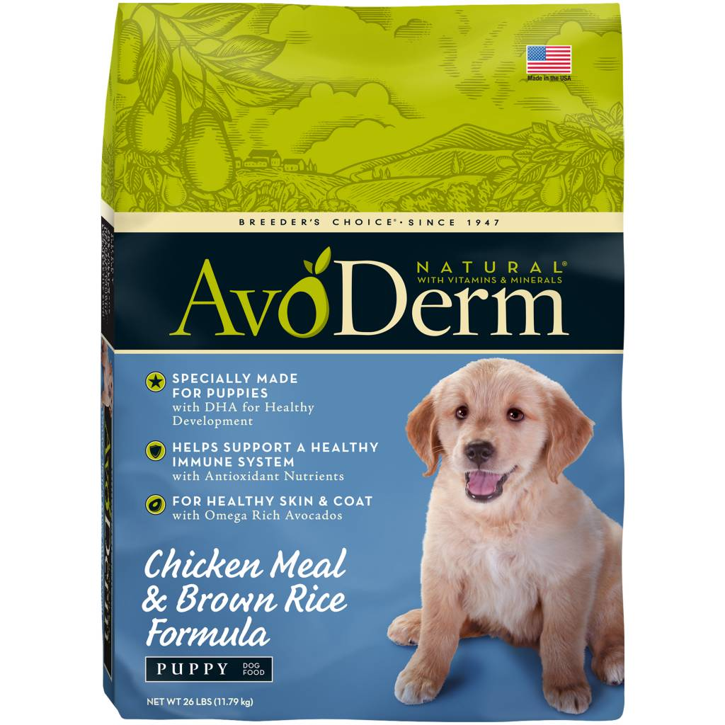 AvoDerm AvoDerm Puppy Chicken Meal & Brown Rice Dry Dog Food