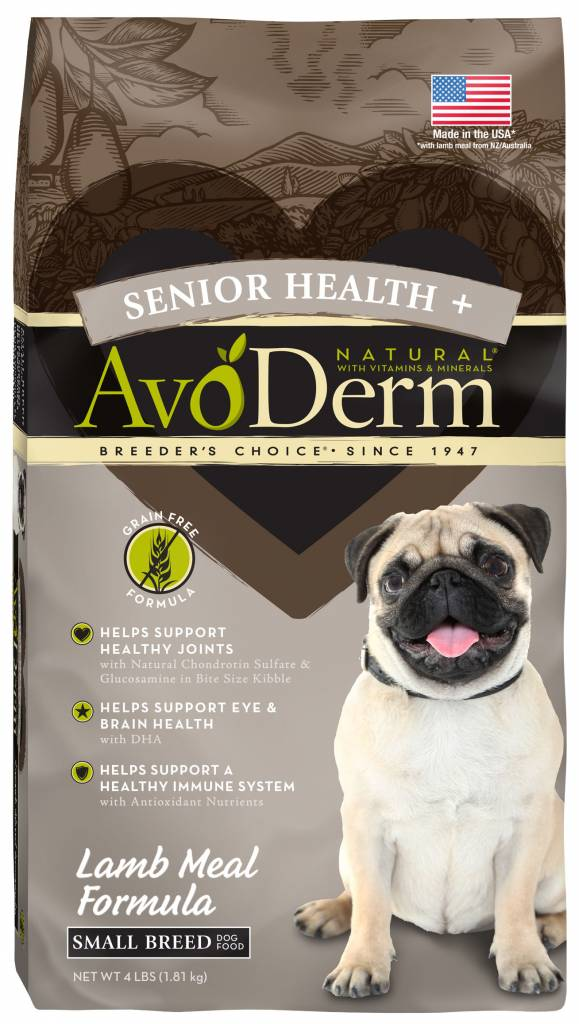 AvoDerm AvoDerm Grain Free Senior Health Lamb Dry Dog Food