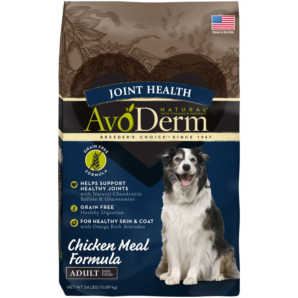 AvoDerm AvoDerm Grain Free Joint Health Chicken Dry Dog Food