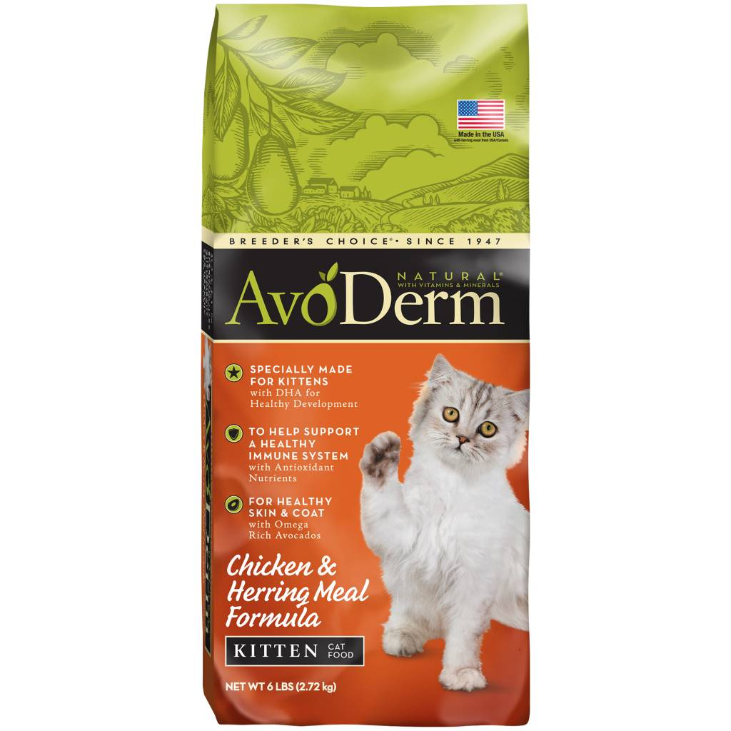 AvoDerm AvoDerm Chicken & Herring Meal Kitten Dry Cat Food