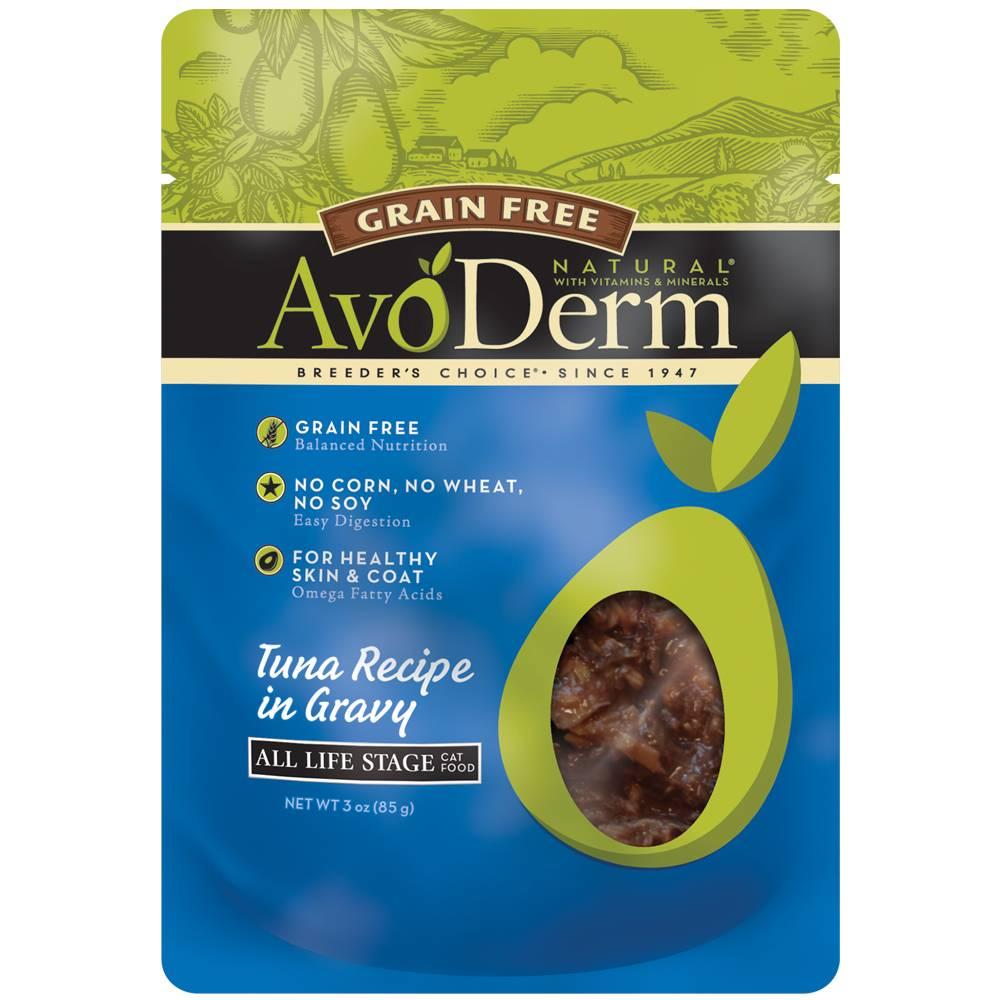 AvoDerm AvoDerm Tuna in Gravy Wet Cat Food Pouch 3oz