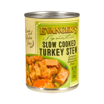 Evanger's Evanger's Signature Slow Cooked Turkey Stew Wet Dog Food 12oz