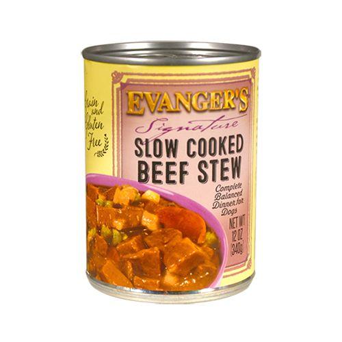 Evanger's Evanger's Signature Slow Cooked Beef Stew Wet Dog Food 12oz