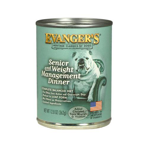 Evanger's Evanger's Classic Senior & Weight Management Dinner Wet Dog Food 13oz