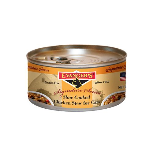 Evanger's Evanger's Signature Slow Cooked Chicken Stew Wet Cat Food 5oz