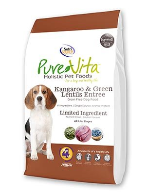 NutriSource PureVita Grain Free Kangaroo & Green Lentils Dry Dog Food