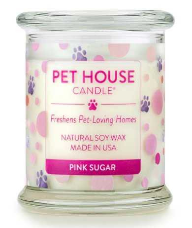 One Fur All One Fur All Pet House Candle Pink Sugar
