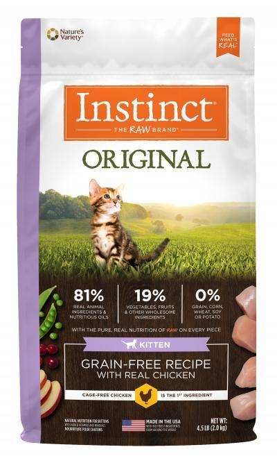 Instinct Instinct Original Kitten Dry Cat Food 4.5#
