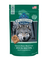 Blue Buffalo Blue Buffalo Wilderness Duck Biscuits Dog Treats 10oz