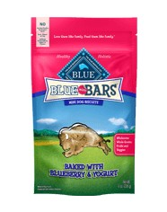 Blue Buffalo Blue Buffalo Mini Bars Blueberry & Yogurt Dog Treats 8oz