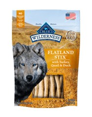 Blue Buffalo Blue Buffalo Wilderness Flatland Stix Dog Treats 6oz