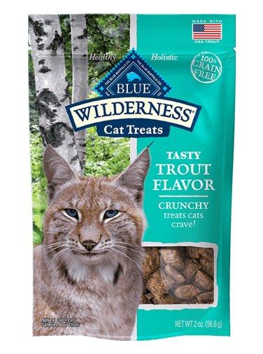Blue Buffalo Blue Buffalo Wilderness Crunchy Trout Cat Treats 2oz