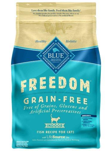 Blue Buffalo Blue Buffalo Freedom Fish Dry Cat Food 5#