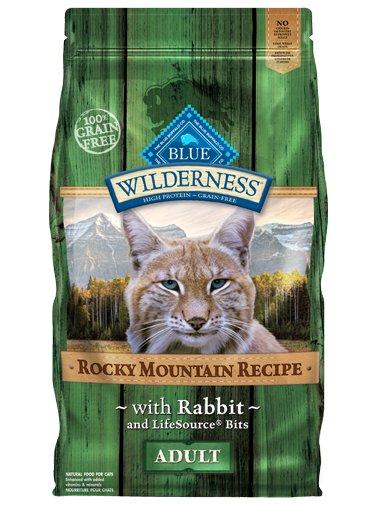 Blue Buffalo Blue Buffalo Wilderness Rocky Mountain Rabbit Dry Cat Food 4#