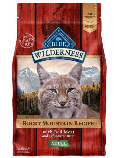 Blue Buffalo Blue Buffalo Wilderness Rocky Mountain Red Meat Dry Cat Food 4#